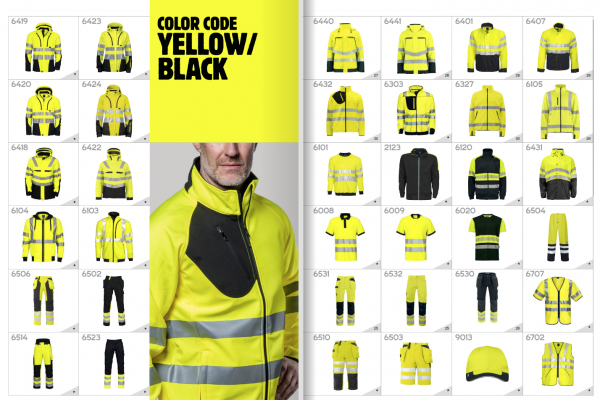 Projob Workwear Catalogus 2018