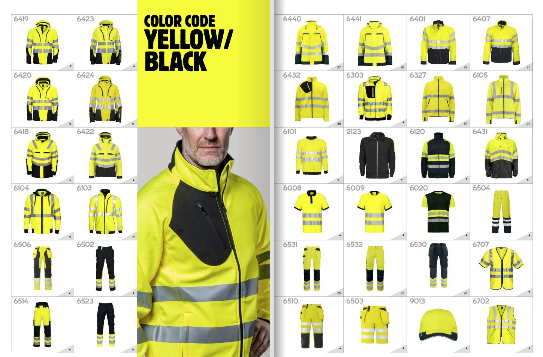 Werkkleding bij FAS Bedrijfskleding EN ISO 20471 klasse 1 2 3